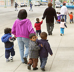 Safely walking your kids to school