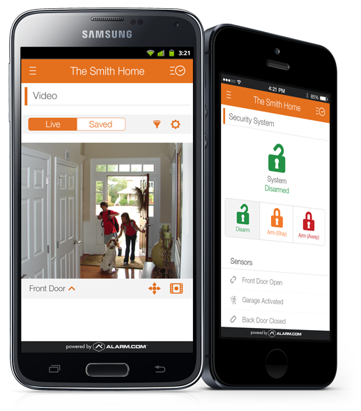Home Automation, Security Alarm, Video Surveillance, Smartphone App